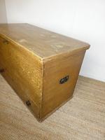 19th Century Scumbled Blanket Box (8 of 12)