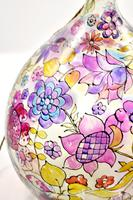 1960s Hand Painted Demi John Lamp with Floral Pattern (10 of 22)