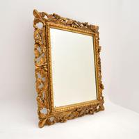 Antique French Carved Giltwood Mirror (3 of 10)