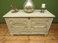Large Gustavian Style Painted Coffer Blanket Box, Scandanavian Painted Chest (2 of 20)