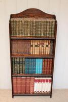 Oak Open Bookcase c.1920 (7 of 11)