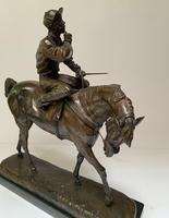 A. Tchernochtchekov - Bronze Pair of Horses & Jockeys (7 of 9)