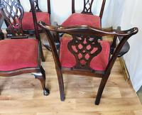 Set of Eight Oversized Dining Chairs (10 of 18)