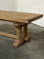 Extremely Rare Large Oak Refectory Table (14 of 35)