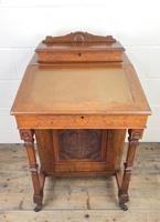 Antique Edwardian Davenport Desk (4 of 15)