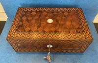 Victorian Inlaid Parquetry Rosewood Box (3 of 12)