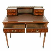 Maple & Co Rosewood Writing Table (3 of 8)