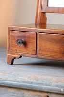 19th Century Inlaid Mahogany Dressing Table Mirror (6 of 23)