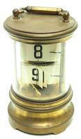 Interesting Ticket Carriage Clock Junghans Ticket Desk Mantel Clock (2 of 9)