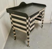 19th Century Italian Baroque Painted Console Side Table (5 of 6)