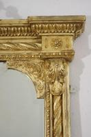 19th Century Gilt Overmantle Mirror with Bevelled Plate (7 of 12)