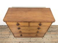 Victorian Mahogany Straight Front Chest of Drawers (3 of 11)