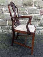 Antique Mahogany Desk Chair (6 of 6)