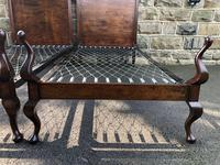 Pair of Antique Mahogany Single Beds (7 of 10)
