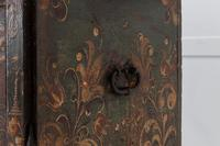 18th Century Painted Trunk on Stand (6 of 13)
