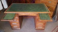 Antique Oak Desk (6 of 6)
