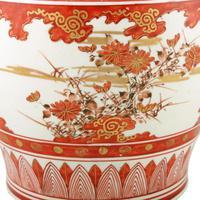 Japanese Kutani Porcelain Vase (4 of 8)
