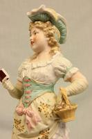 Antique Large Bisque Figurine of Young Girl (5 of 12)