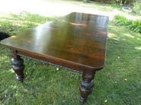 Victorian Oak Extending Table (2 of 7)