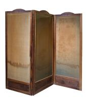 """Pretty 3 Fold Arch Screen decorated with """"Bird of Paradise"""" (2 of 5)"""