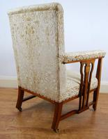 Edwardian Art Nouveau Inlaid Armchair (3 of 8)