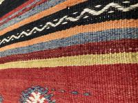 Kilim Covered Bench Stool (5 of 8)