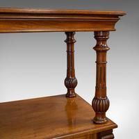 Large Antique Buffet, English, Walnut, Server, Sideboard, William IV c.1830 (6 of 12)