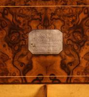 "Superb Victorian Burr Walnut ""Jack in a Box"" Davenport (6 of 16)"
