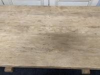 French Bleached Oak Farmhouse Dining Table (14 of 15)