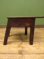 Unusual Antique Victorian Stool, Cobblers Stool, Milking Stool, Farriers Stool (7 of 12)