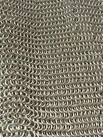 Antique Sterling Silver Hallmarked Art Deco Chain Mail Bag Purse 1923 London A M & M Ltd (4 of 12)