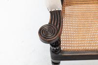 19th Century Anglo Indian Ebonised Teak Armchair (9 of 11)