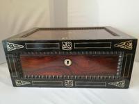 19th Century Rosewood Jewellery Box (2 of 10)