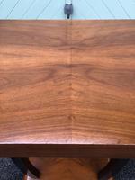 Art Deco Walnut & Ebonised Table (2 of 9)