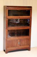 Oak Stacking Bookcase c 1920 (4 of 10)