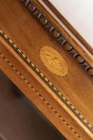 Victorian Mahogany Inlaid Pier Cabinet on Bracket Feet (3 of 7)