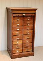Solid Oak Lebus Tambour Front Filing Cabinet (4 of 10)
