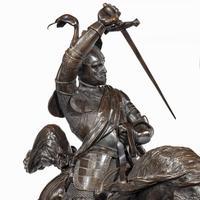 Italian Bronze Equestrian Sculpture of Emanuele Filiberto, Duke of Savoia, by Baron Carlo Marochetti (15 of 17)