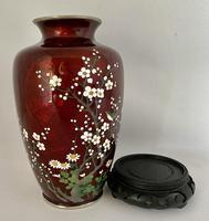 Japanese Gin Bari Cloisonne Vase. c.1920 (6 of 7)