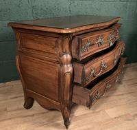 Superb Early 20th Century French Walnut Bombe Commode (9 of 9)