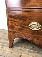 19th Century Mahogany Bow Front Chest of Drawers (16 of 18)