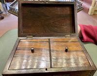Pretty 19th Century Tunbridge Ware Tea Caddy (2 of 5)