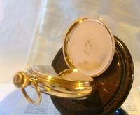 Antique Pocket Watch 1903 Special Waltham 10ct Rose Gold Filled Fwo (8 of 12)