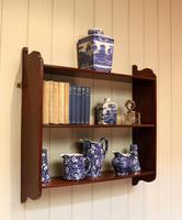 Mahogany Wall Shelves (5 of 10)