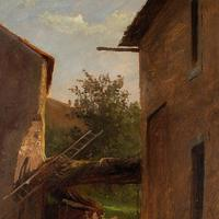 Frederik Rohde, Rural Scene With Chickens, Landscape Painting (2 of 7)