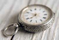 Antique Swiss Silver Women's Pocket Watch, Fancy Case, Fully Hallmarked c.1900 (8 of 10)