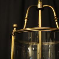 French Bronze Triple Light Antique Lantern (4 of 10)