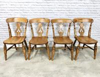 Set of 4  Lyreback Windsor Chairs (2 of 6)