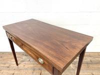 19th Century Mahogany Fold Over Tea Table (7 of 12)