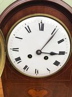 Edwardian Inlaid Mahogany Bracket Clock (10 of 11)